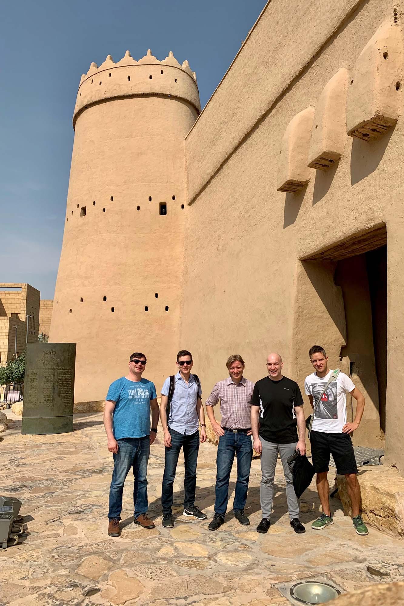 Sightsseing in Riad