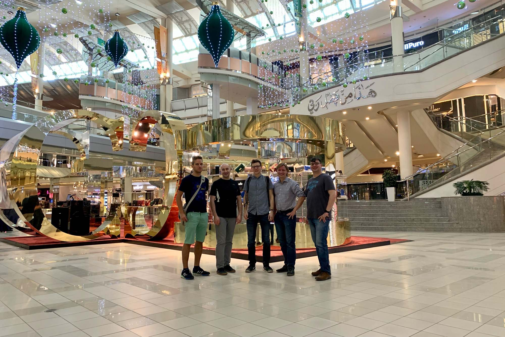 Einkaufsbummel in einer Mall