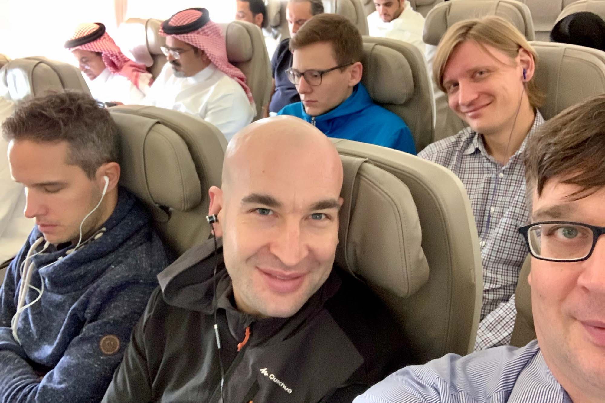 Weiterflug nach Djedda