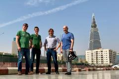Erste Runde durch Riad