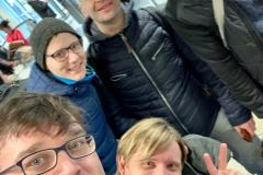 Eiskalt in München...