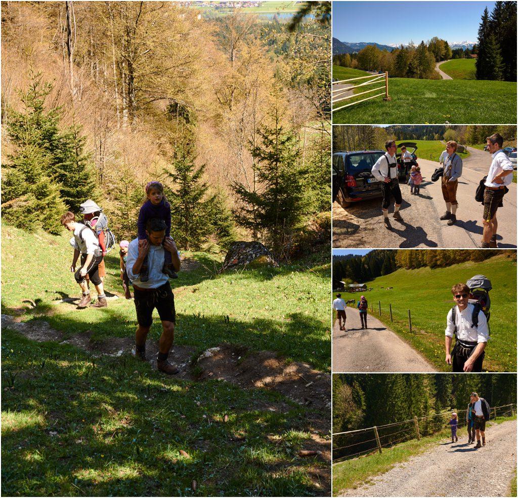 Aufstieg zur Alpe Oberberg