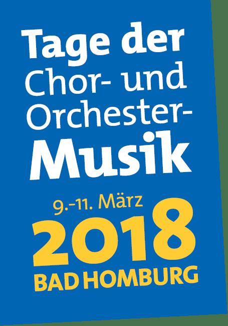 Logo Tage der Chor- und Orchestermusik 2018